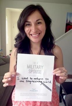 Military Spouse Career Dream Card